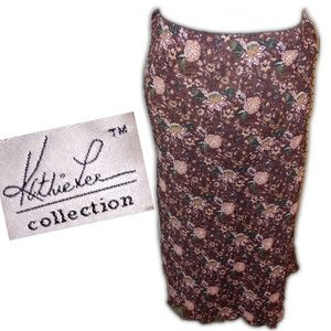 KATHIE LEE COLLECTION Maxi Skirt